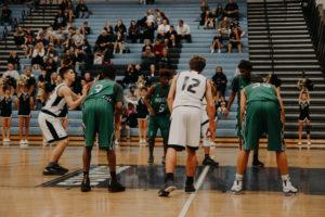 teenage boys playing basketball - Oak Brook primary care